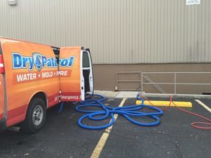water damage repair Dublin OH